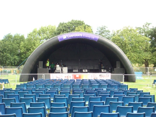 Stages hire
