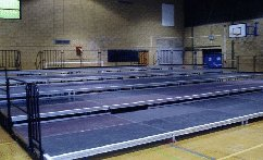 Tiered Stages for Hire